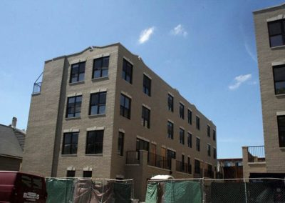 4-story town-house development, north side Chicago, IL