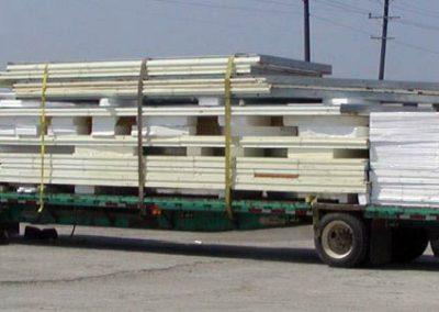 shop truck loaded with ELFI materials
